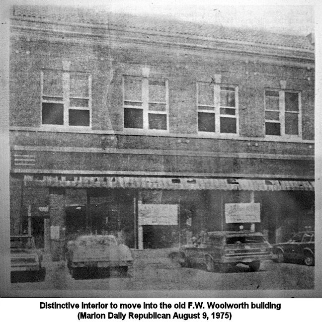 F W Woolworth Company Marion Illinois History Preservation