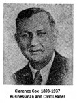 Clarence Cox 1893-1937