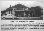 Daniels Market in IC Depot 11 17 1950