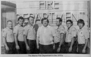 Marion Fire Department, 1977