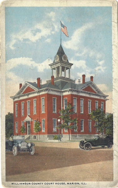 Williamson County Court House History, Marion, Illinois | Marion