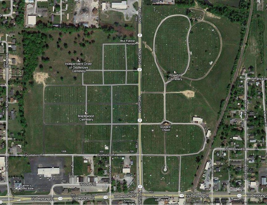 Marion Illinois City Cemeteries Marion Illinois History Preservation